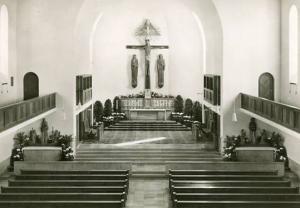 Germany - St. Joseph Church Interior    *RPPC