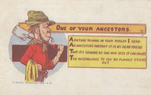 One of Your Ancestors , 1908