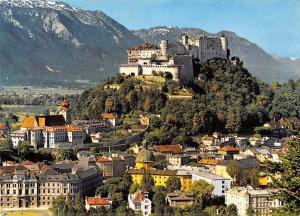 Salzburg und Stift Nonnberg gegen das Lattengebirge Gesamtansicht