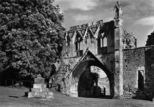 Kirkham Priory Yorkshire Gatehouse from North