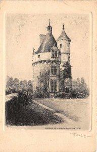 br107240 chateau de chenonceaux la tour  france