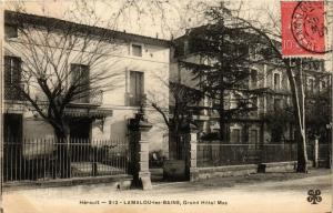 CPA Herault - Lamalou-les-Bains, Grand Hotel Mas (255502)