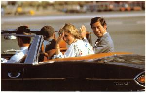 Postcard Royal Wedding 1981, Leaving Gibraltar Airport 1 August 1981 #44