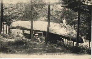 CPA CASTRES Le Sidobre - pres Castres - Le Rocher de la Barque (1087510)