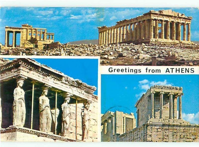 Greetings from athens greece ruins antiquities ahmokpatia postcard greetings from athens greece ruins antiquities ahmokpatia postcard 8612 m4hsunfo