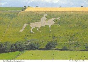Dorset Postcard, The White Horse, Osmington AW7