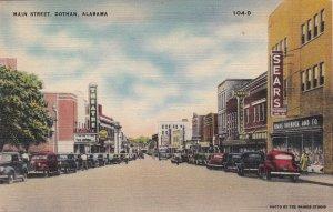 Alabama Dothan Main Street 1944 sk7352