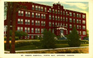 Canada - Ontario, North Bay. St. Joseph Hospital