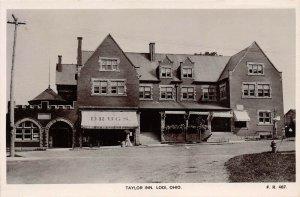 LP06   Lodi  Ohio  Taylor Inn RPPC   Postcard