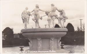 Cuba Havana Fountain At The Casino Nude Topless Photo