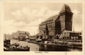 CPA AK Duisburg- Hafen GERMANY (901818)