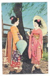 Geisha, Maiko Girls Of Kyoto, Japan, 1940-1960s (2)