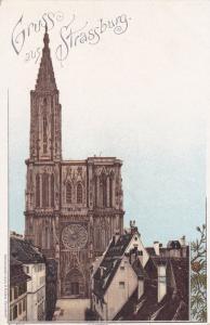 Munster, Gruss Aus Strassburg (Bas Rhin), France, 1901-1907