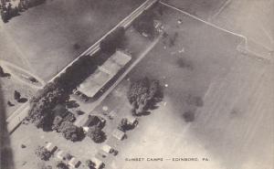 Aerial View Sunset Camps Edinboro Pennsylvania Artvue