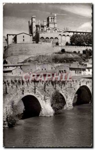 Beziers - The Cathedral - Old Postcard