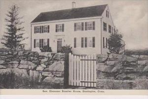 Connecticut Stonington Rev Ebenezer Rossiter House Albertype