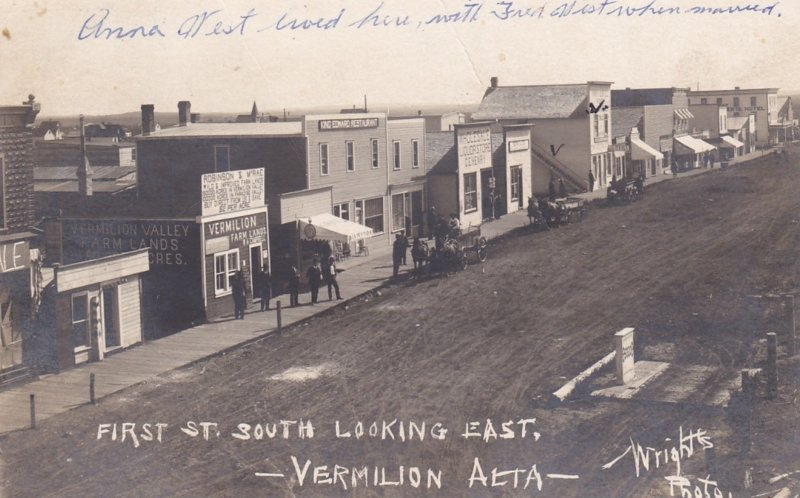 RP: VERMILION , Alberta , Canada , 00-10s ; First St. South Looking East