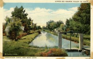 TX - Lower Rio Grande Valley Irrigation Canal