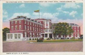 Virginia Fredericksburg The Stratford Hotel Fredricksburgs Newest And Finest ...