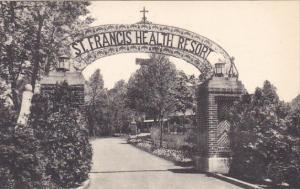 Entrance St Francis Health Resort Denville New Jersey Albertype