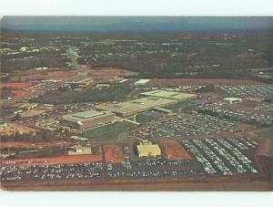Unused Pre-1980 AERIAL VIEW OF TOWN Greenville South Carolina SC n2740