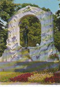 Austria Vienna Johann Strauss Monument