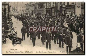 Orleans Old Postcard Fetes de Jeanne d & # 39arc May 7 and 8 The ambulance st...