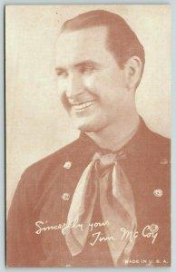 Saginaw MI*~Poiice Chief Actor~Brigadier General Tim McCoy~WWI & WWII Soldier