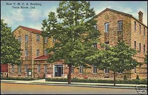 Terre Haute, Ind., New Y.M.C.A. Building (1940s) YMCA