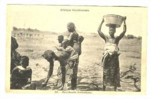 Afrique Occidentale, Marchands Ambulants, Senegal, Africa, 1900-1910s