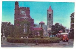Public Library, 1st Congregational Church & Tavern, Nashua, New Hampshire, 19...