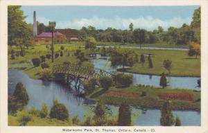 Water Works Park , ST. THOMAS , Ontario , Canada , 20-40s