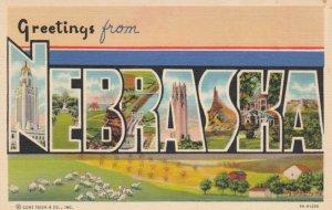 Large Letter NEBRASKA , 30-40s
