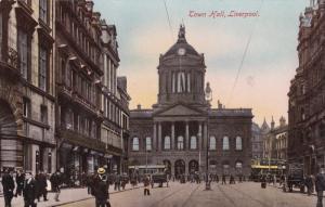 Town Hall, LIVERPOOL (Lancashire), England, UK, 1900-1910s