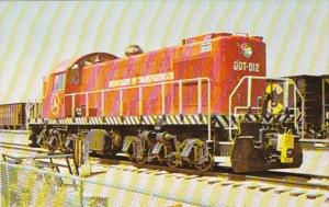 Department Of Transportation ALCO-RSD-1 Locomotive Number 012