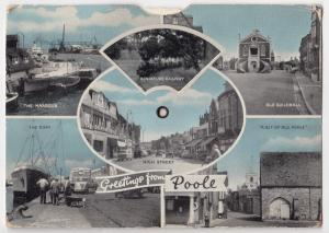 Dorset; Poole, 9 View Mechanical Novelty PPC By Dennis, Unposted