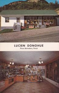Lucien Donohue , Place Belvedere , Perce , Quebec , Canada , 50-60s