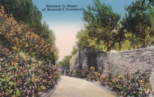 Entrance to Home of the Bermuda Governor