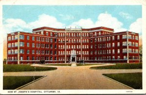 Iowa Ottumwa New St Joseph's Hospital Curteich