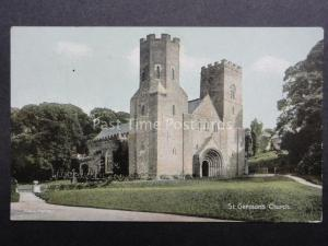 Cornwall: St. German's Church from 25 Baskerville Rd Wandsworth Common - Old PC