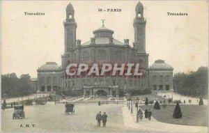 Postcard Old Paris Trocadero