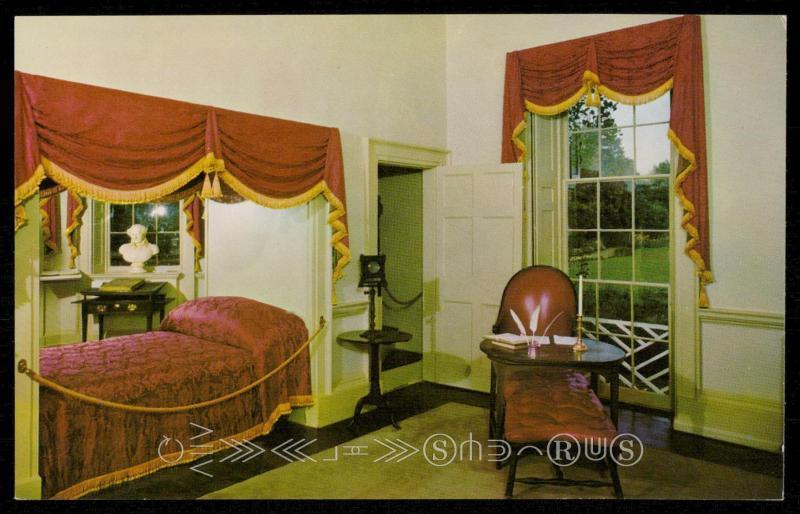 Monticello   Jeffersonu0027s Bedroom
