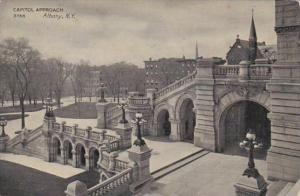 New York Albany State Capitol Building Capitol Approach 1909