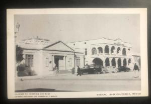 Mint Mexico Real Picture postcard RPPC Chamber Of Commerce bank Mexicali