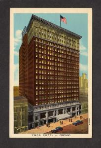 IL YMCA Hotel Chicago Illinois Postcard Vintage PC