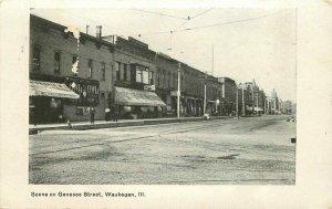 Waukegan Illinois 1905 Postcard
