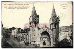 Old Postcard Louvesc Basilica St. Regis