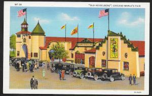 Chicago Worlds Fair 1933-1934 Old Heidelberg Chicago Illinois Unused c1933