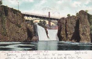 New Jersey Paterson Chasm Bridge Passaic Falls