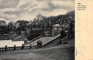 The Terrace, Central Park, New York, N.Y., Early Postcard, Used in 1907